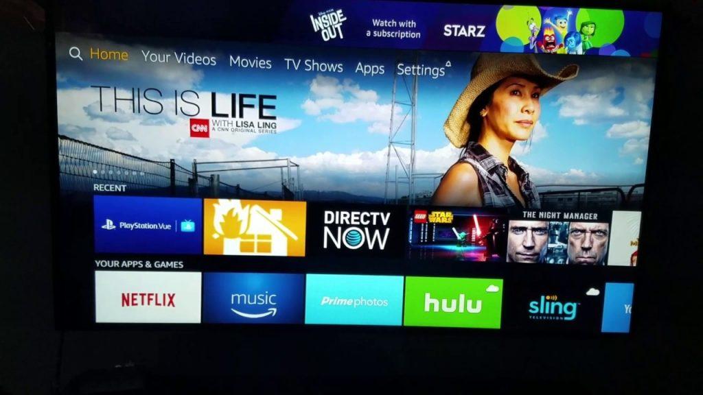 direct TV now Firestick