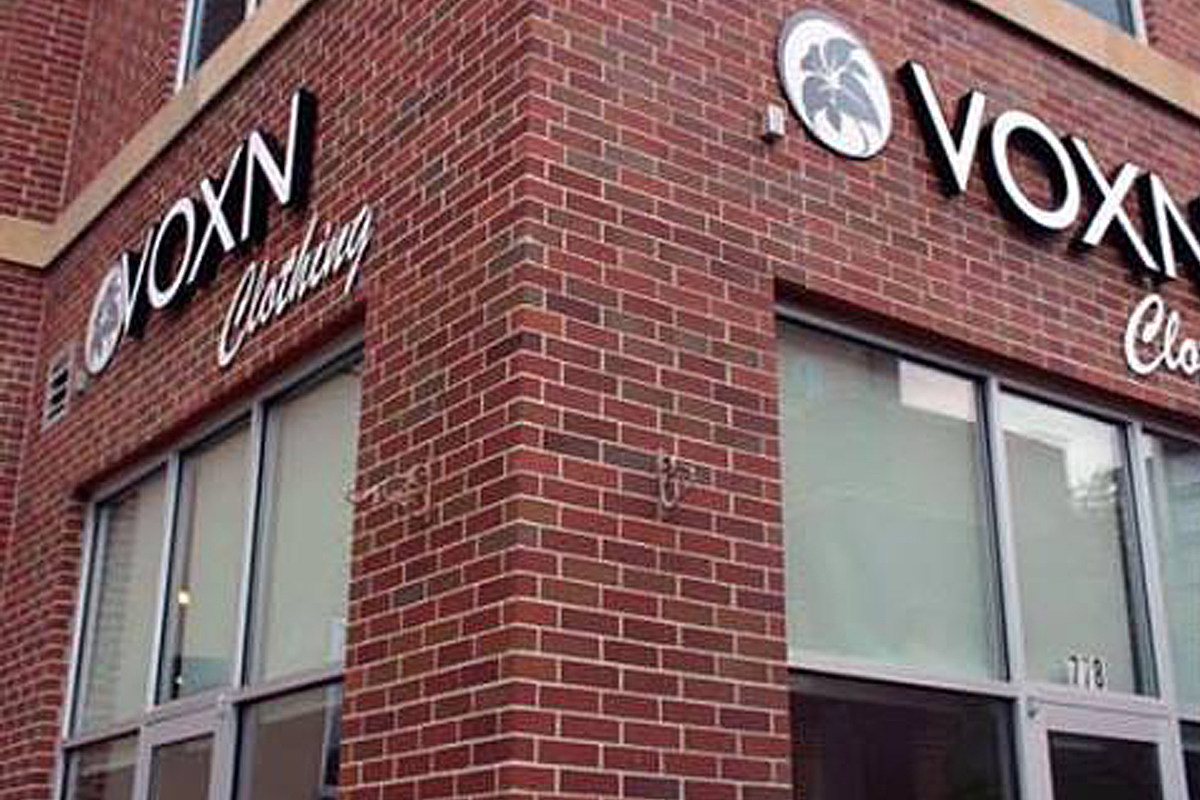 Voxn clothing store
